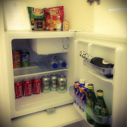 Mini bar for every room